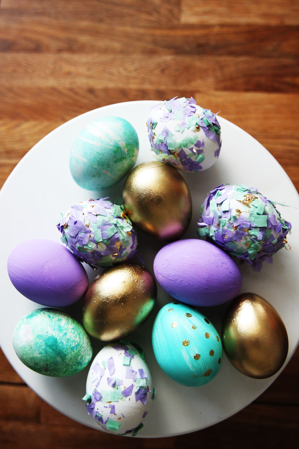 Pictures of decorated eggs