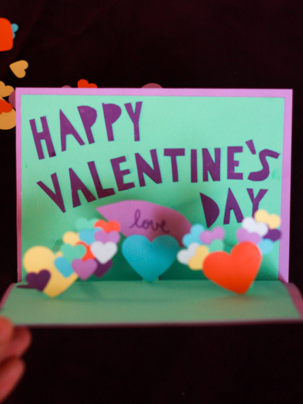 Valentine's Day Pop-Up Card