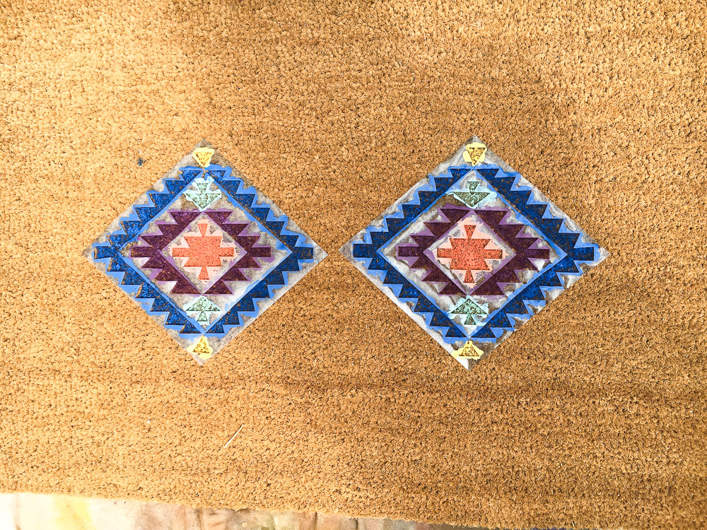 how to make a door mat cricut
