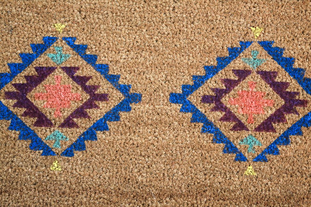 beautiful doormat