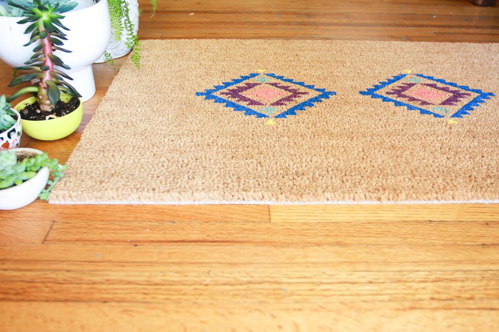 door mat handmade