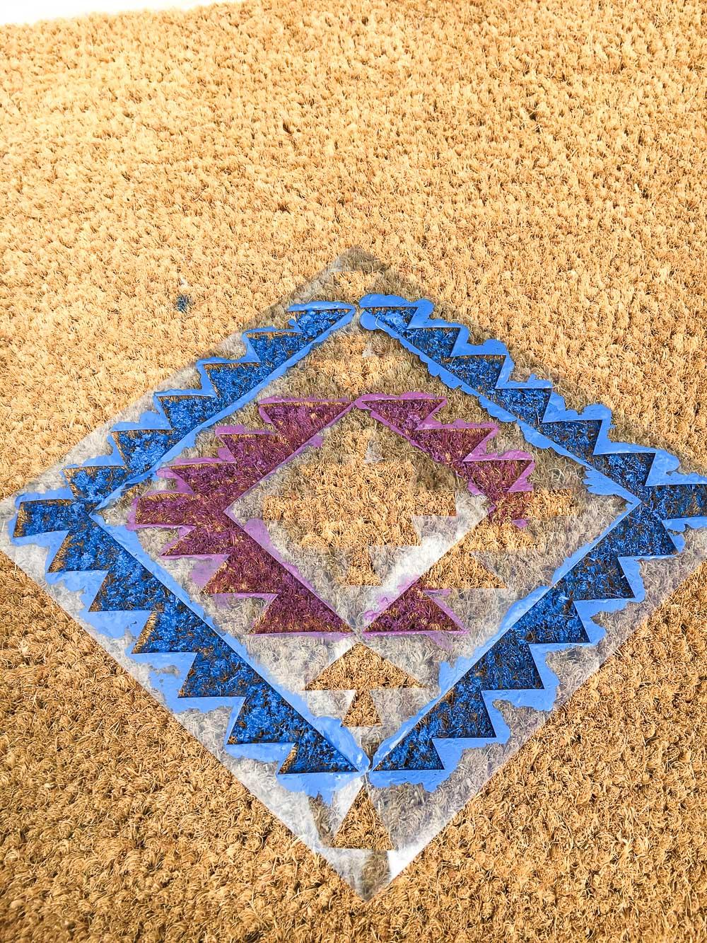decorate door mat