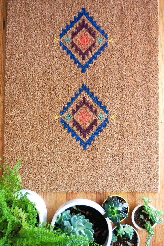 make your own door mat