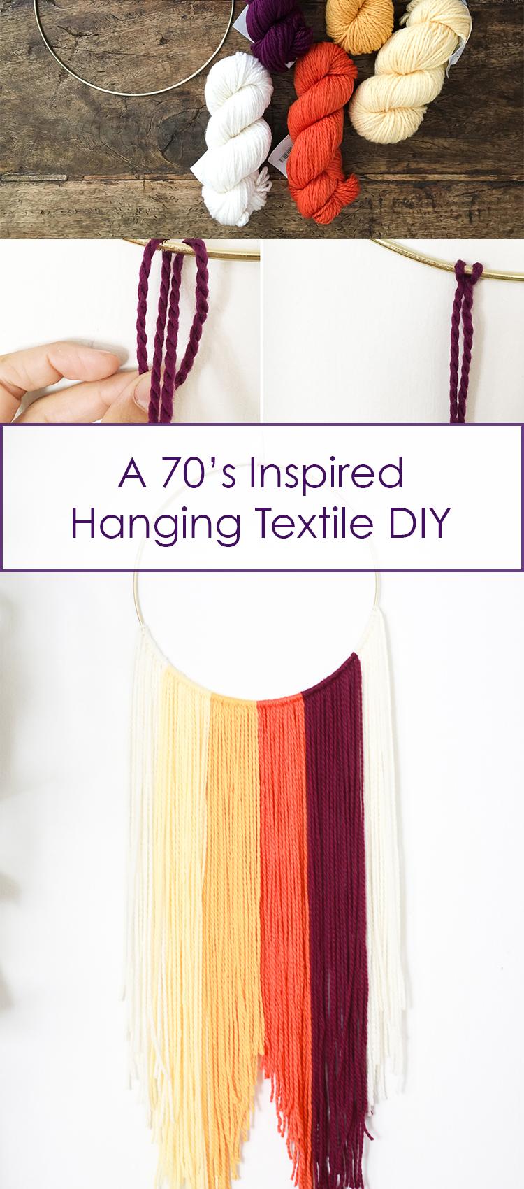 hanging textile pin