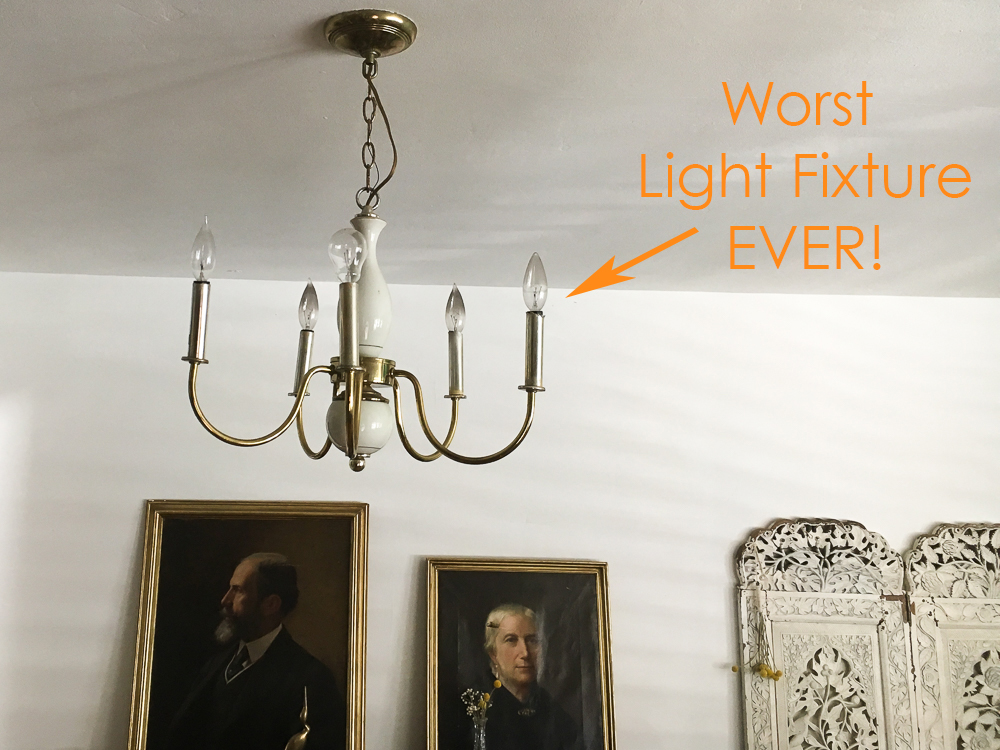 ugly light fixture