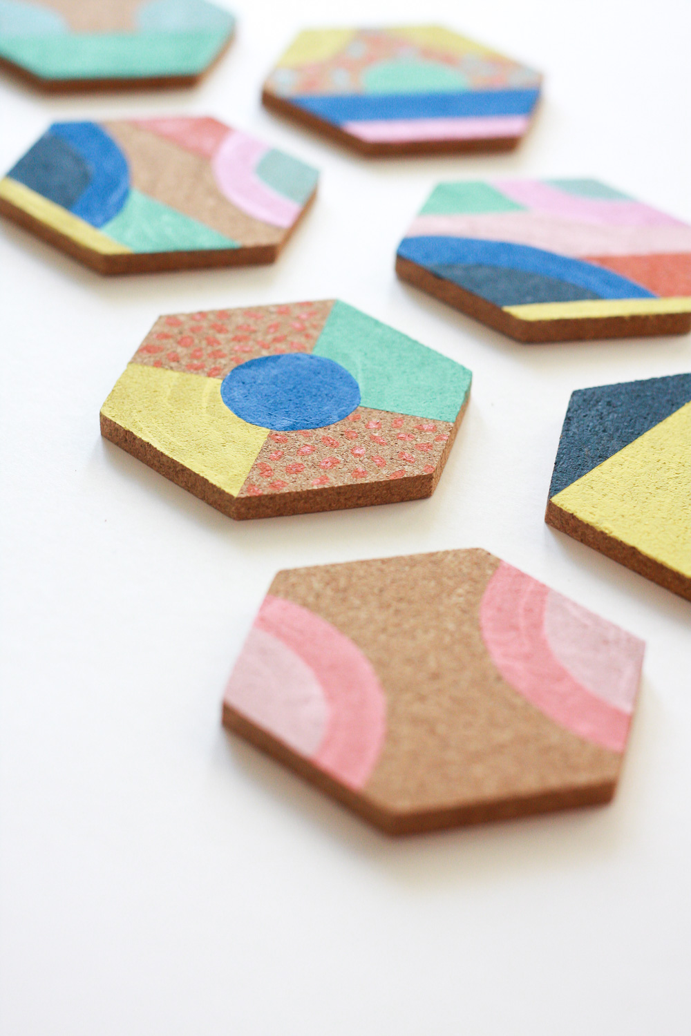 how to paint coasters