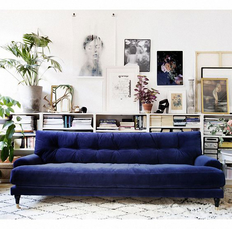 What I See A Lot On Pinterest Colorful Sofas Jest Cafe