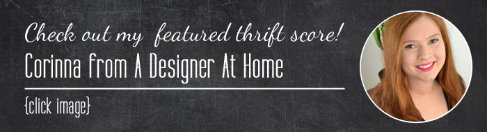 Thrift Score Thursday Corinna ADAH