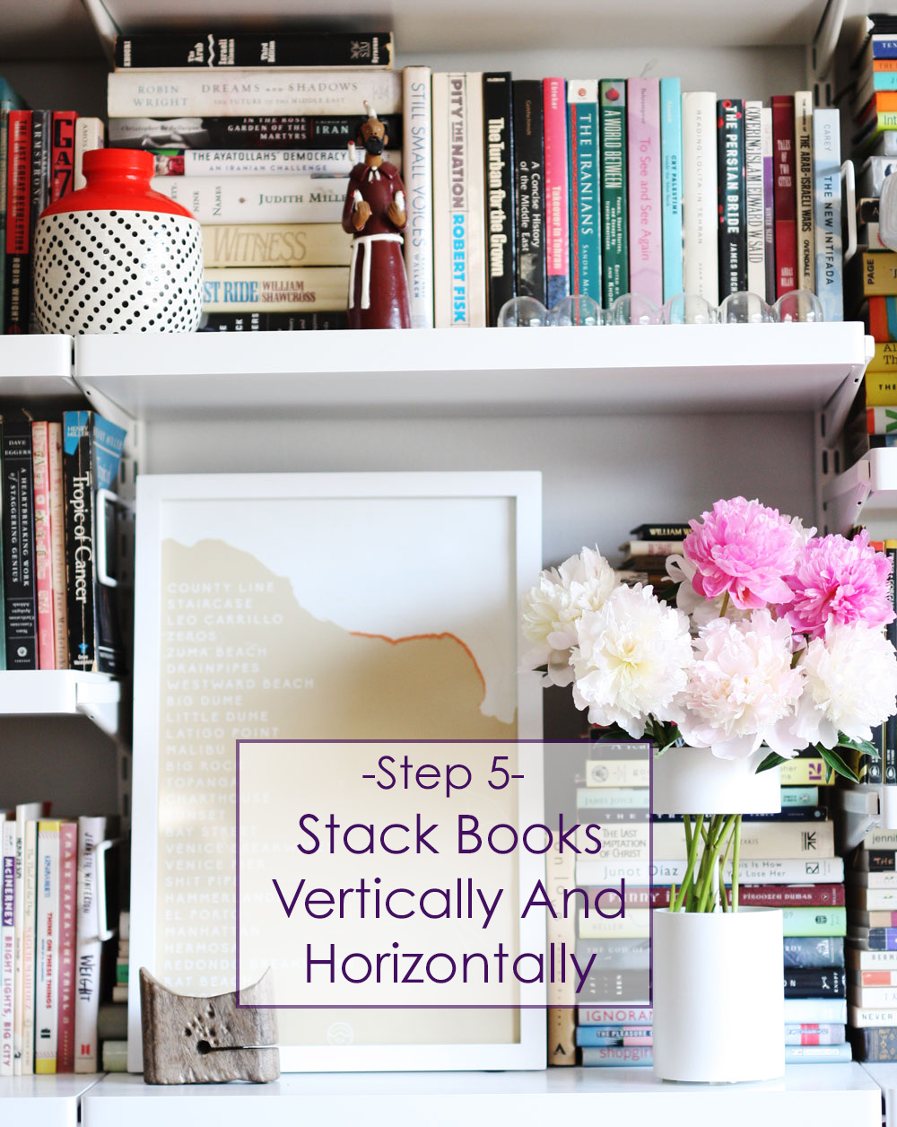 5 Stack Books Vertically And Horizontally