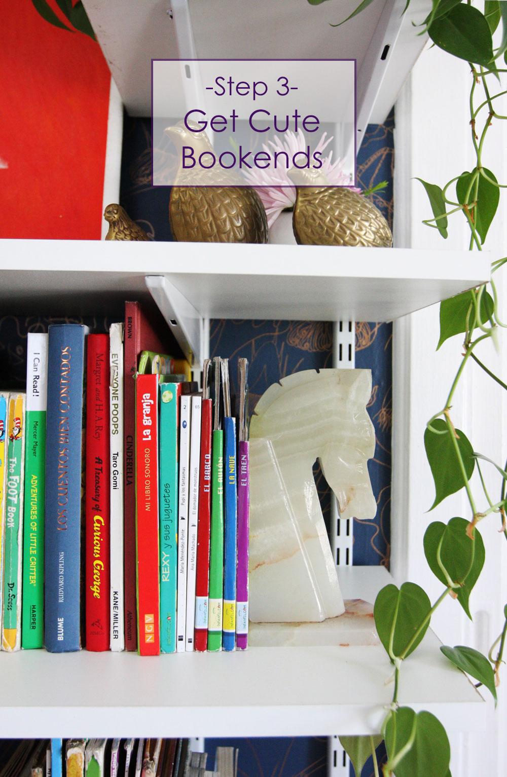 3 get cute - Cute Bookshelves