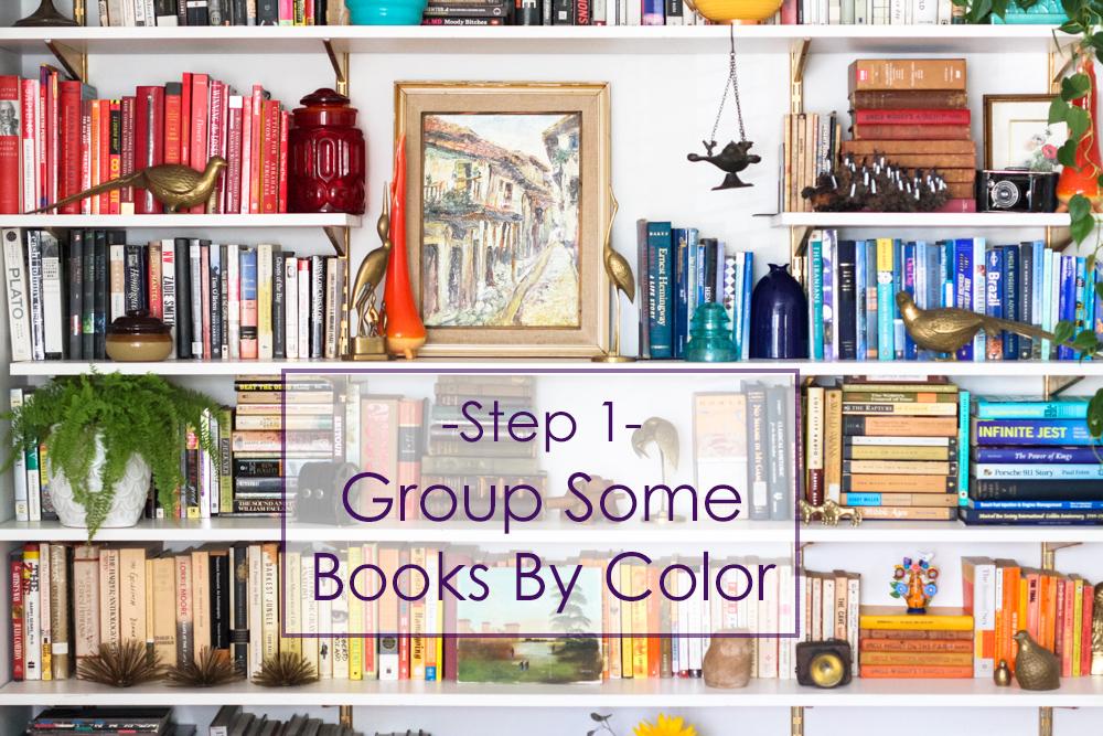 7 Steps To Eye-Catching Bookshelves - Jest Cafe