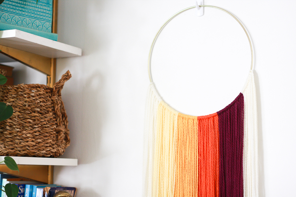 easy to do hanging textile