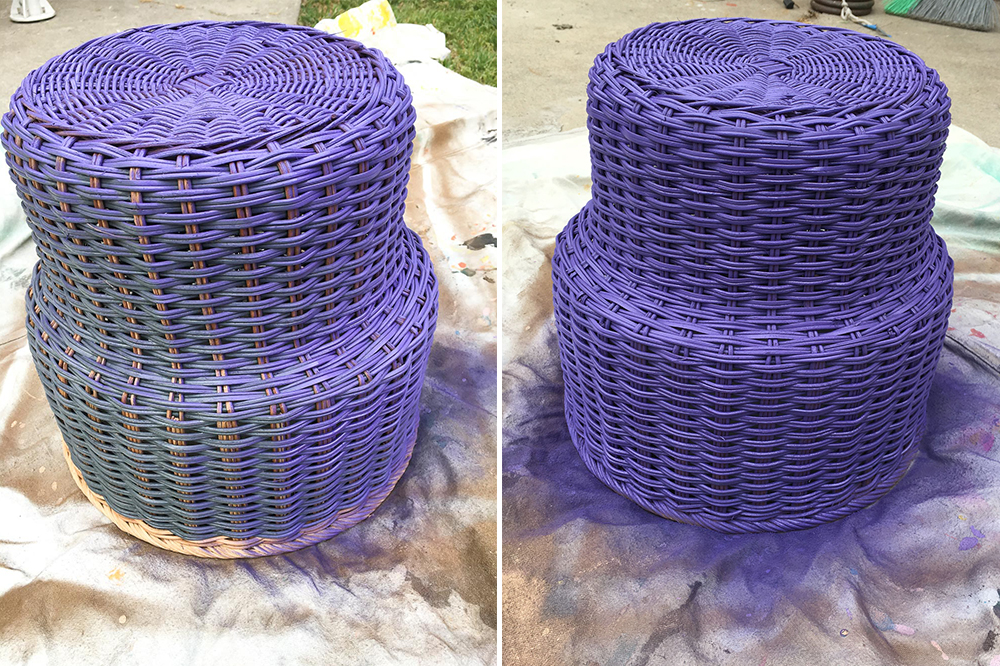 basket lamp diy