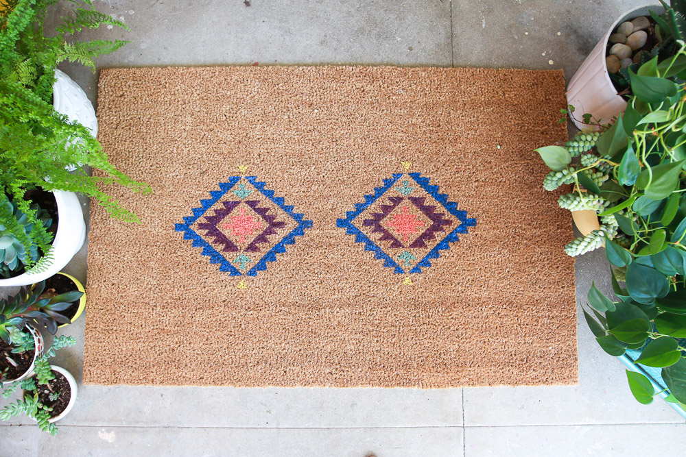 door mat diy