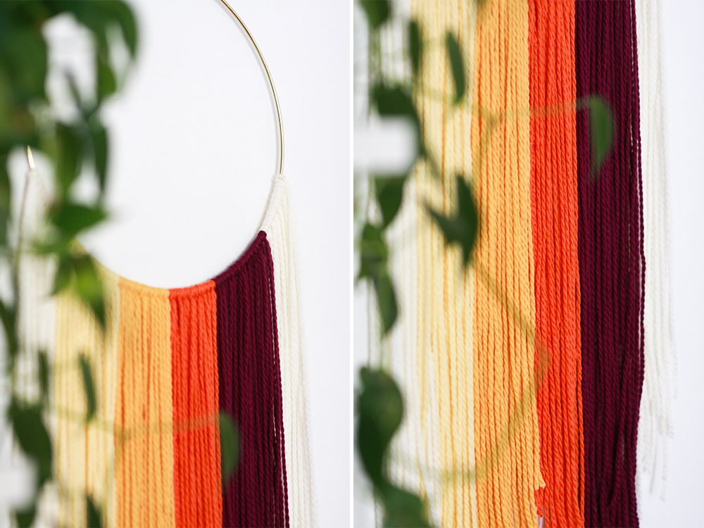 70's hanging textile