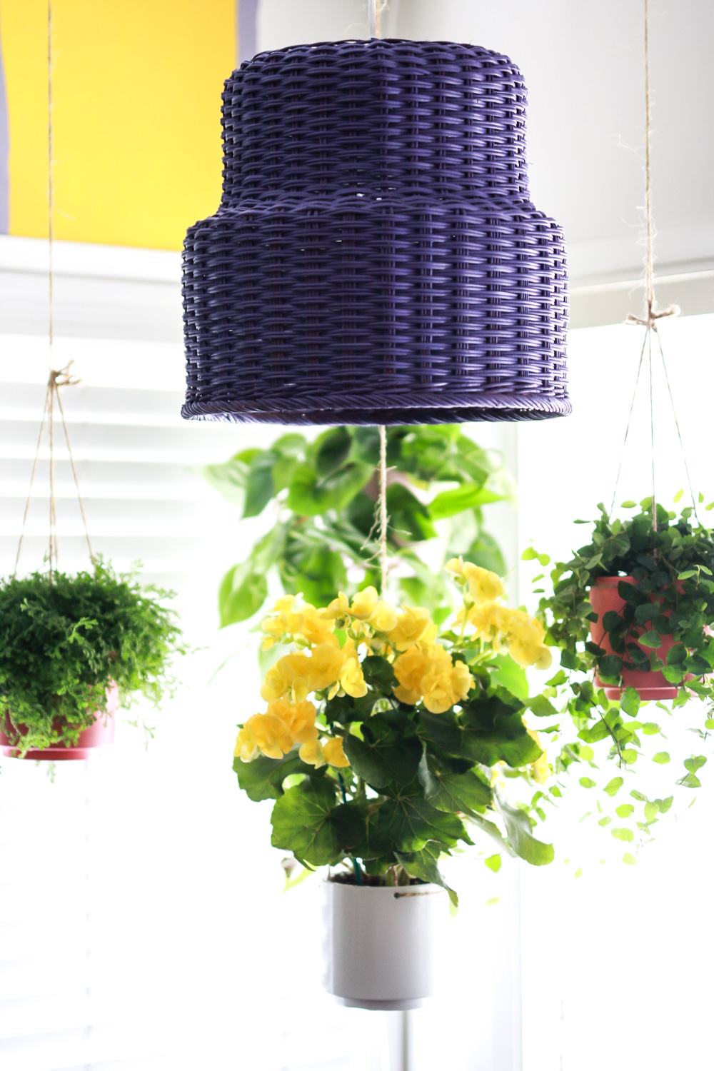 step by step lamp basket diy
