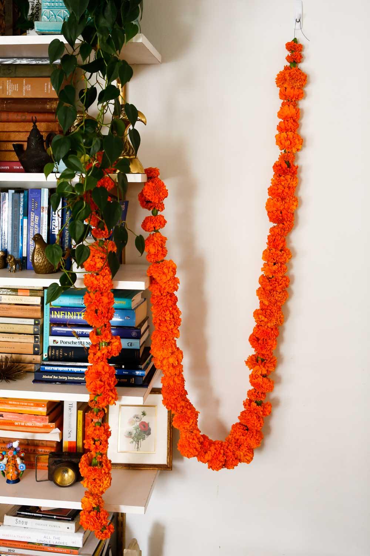 marigold garland halloween