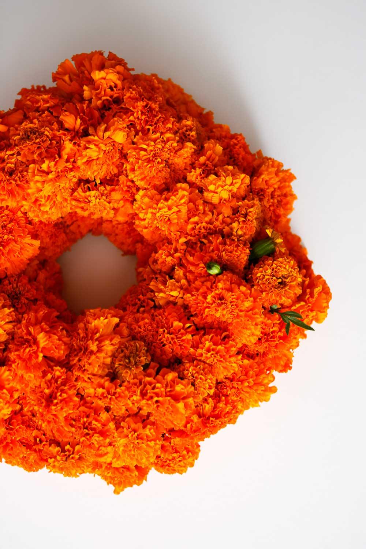 final marigold wreath